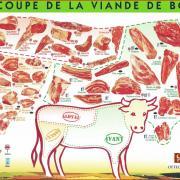 schema decoupe viande boeuf